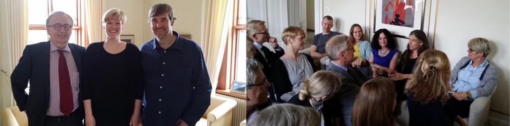 German ambassador Thomas Meisterr_me_Hans Rath_amd guests